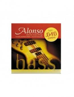 ENCORD. ALONSO PARA CONTRABAIXO .040 – 4 CORDAS
