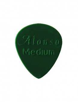PALHETA ALONSO NYLON GOTA MEDIA (MEDIUM) – VERDE