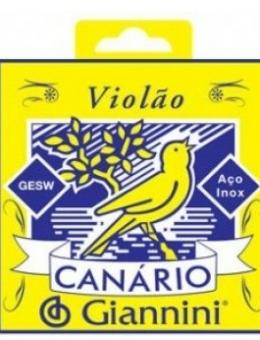 CORDA CANARIO DE AÇO 1° A 6° PARA VIOLAO – GESW