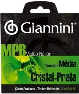 ENCORD. GIANNINI VIOLAO NYLON CRISTAL/PRATA GENWS