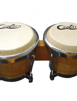 BONGO CAPTAIN NATURAL 6″ X 7″ – FERRAGEM CROMADA