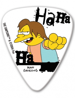 PALHETA GROVER – SIMPSONS – NELSON HA HA